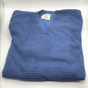 EUC Luck Brand Blue V-Neck Sweater! Size M
